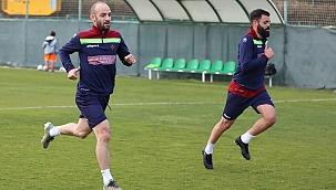 Alanya'da Malatya maçı hazırlıkları