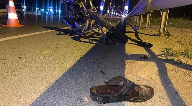 Askerden dönen genç kazada öldü