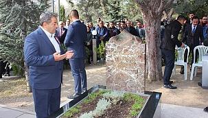 Fendoğlu Alparslan Türkeş'i andı