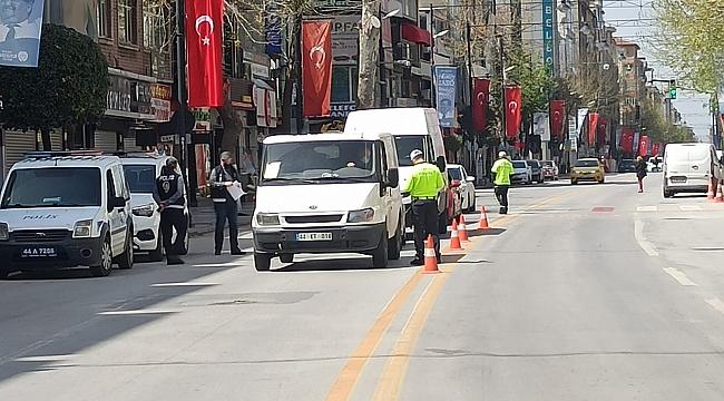 Hafta sonu sokaklar boş kaldı!