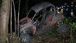 Ormandaki UTV gezisi ölümle bitti