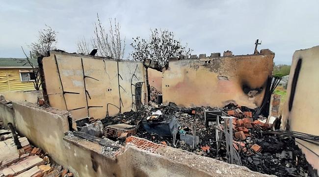 Yangın müstakil evi kül etti!