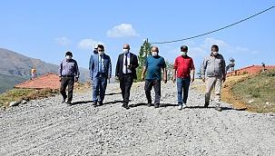 Doğanşehir'de yol çalışmaları!