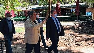 Fendoğlu'ndan Tabiat Parkında inceleme