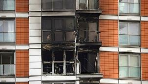 Londra'da 19 katlı binada yangın