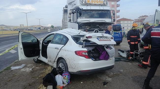 Başkent'te trafik kazası: 2 ölü 2 yaralı