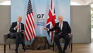 Biden ve Johnson'dan yüz yüze görüşme