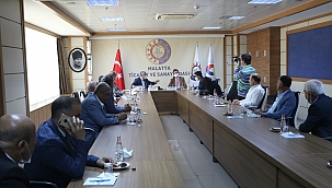 Büyükelçi Landrut'tan TSO'ya ziyaret