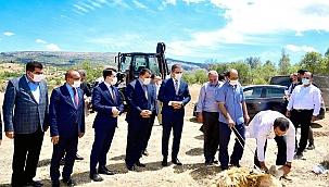 Doğanyol atık su arıtma tesisi temeli atıldı