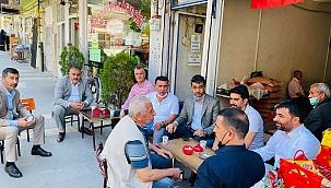 MHP'de esnaf ziyaretleri devam etti!