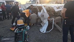 Siirt'te trafik kazası : 2 ölü 6 yaralı