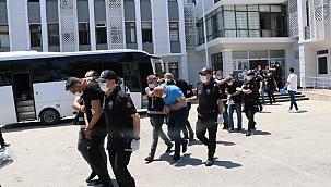 Suç örgütü operasyonu 21 tutuklama