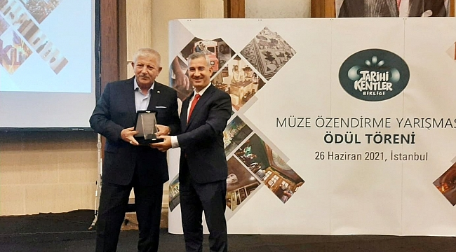 Tarihi Kentler Birliğinden Kahve Konağı Ödülü