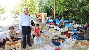 Güder'den işçilere bayram ziyareti