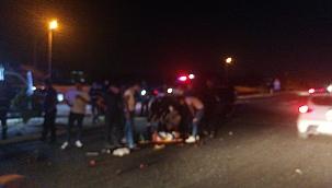 Hatalı sollama kaza getirdi: 5 yaralı!
