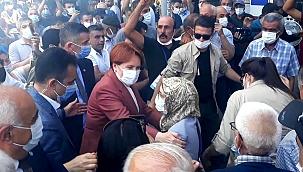 İYİ Parti Lideri Akşener'e coşkulu karşılama!