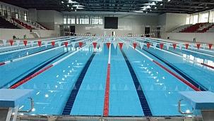 Yeni kapalı havuz hizmete açıldı!