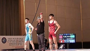 Malatyalı Güreşçi Dünya 3'ncüsü oldu