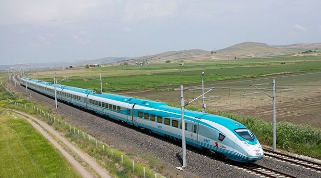 'Mavi tren sefere başladı darısı hızlı trene'