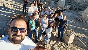 Nemrut Dağına yerli turist akını!