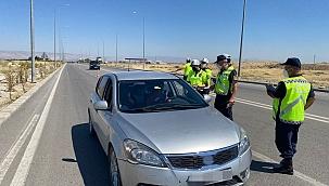 Polisten drone destekli trafik denetimi