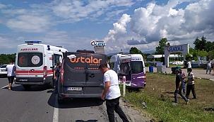 Sakarya'da trafik kazası: 3 yaralı!