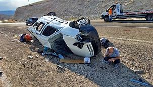 Sivas'ta trafik kazası 4 yaralı