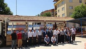 Doğanşehir'de 32 sıvat dağıtıldı