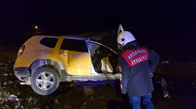 Ardahan'da otomobil ters yöne girdi: 1 ölü