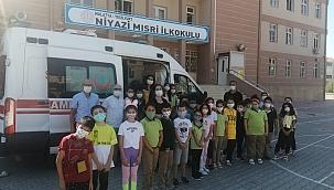 Çocukların ambulans merakı