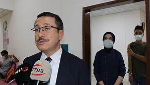 İnönü Üniversitesi'nde aşı merkezi kuruldu