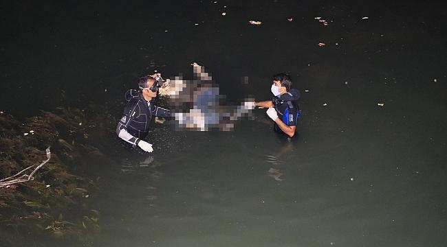 Kayıp şahsın cesedi kanalda bulundu