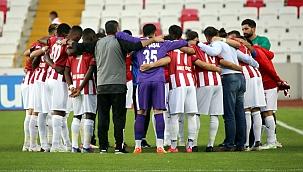 Sivasspor'da 3 sakat oyuncu bulunuyor