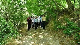 Yeşilyurt'ta doğa yürüyüşü etkinliği