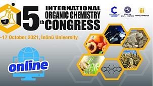 5. Uluslararası Organik Kimya Kongresi başladı