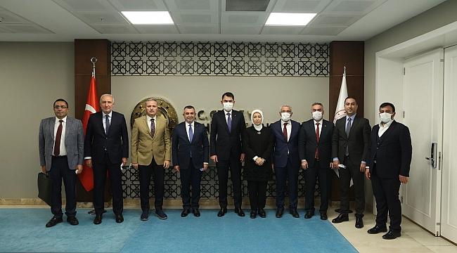 AKP Heyetinden Bakanlık ziyaretleri