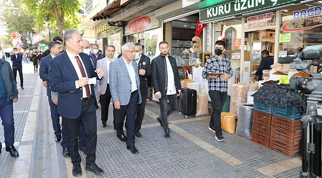 Milletvekili Çakır'dan esnaf ziyareti
