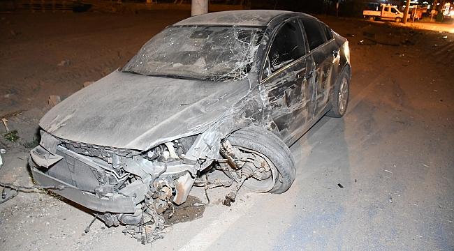 Aksaray'da kaza: 3 kişi yaralandı