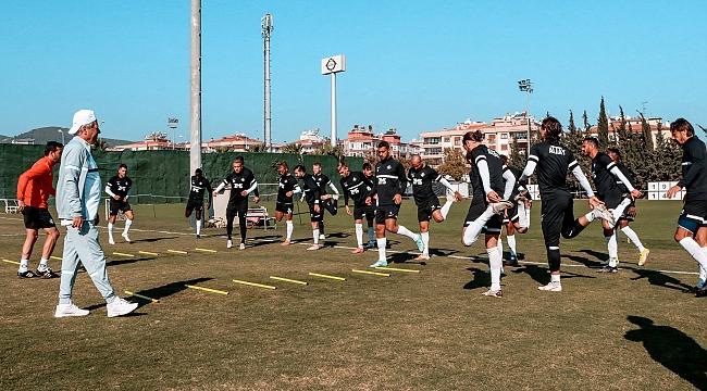 Altay Malatyaspor maçına hazırlanıyor