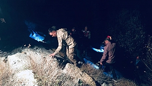 Bayburt'ta otomobil dereye uçtu: 1 ölü