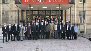 Doğanşehir'de Muhtarlar Günü kutlaması
