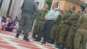 İsrail'den Harem-i İbrahim Camii'ne baskın