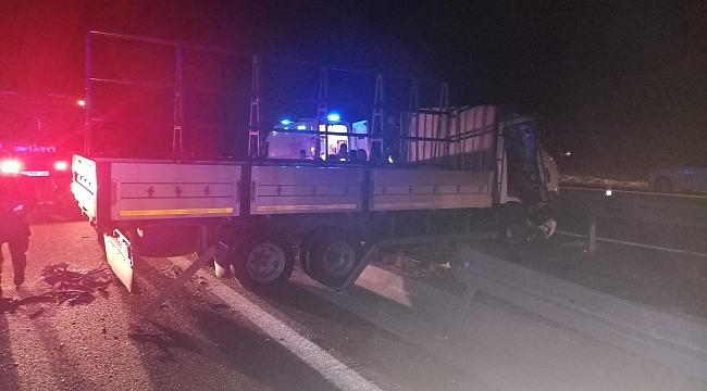 İzmir-İstanbul karayolunda kaza: 5 yaralı