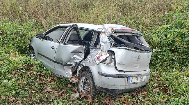 Kazada ağır yaralandı hastanede öldü