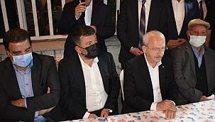 Kılıçdaroğlu'ndan Ağbaba'ya taziye ziyareti