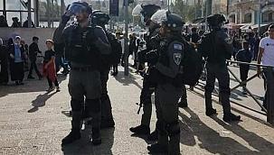 Kudüs'te yaralanan Filistinli sayısı 60'a yükseldi
