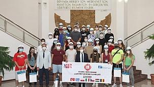 Öğrencilere deprem ilk yardım eğitimi