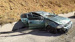 Doğanşehir'de trafik kazası 1 yaralı!