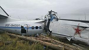 Rusya'da uçak düştü: 16 ölü 7 yaralı