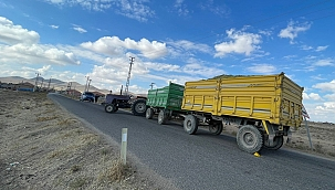 Traktörden düşen çocuk hayatını kaybetti